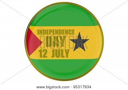 Sao Tome And Principe Independence Day, Concept
