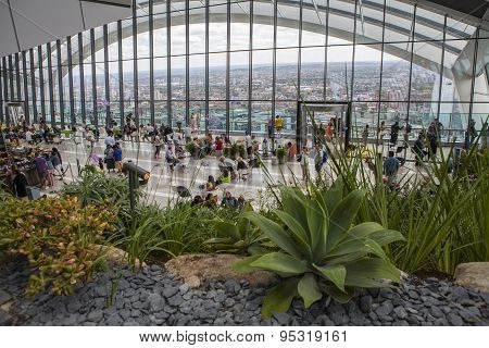 The Sky Garden At 20 Fenchurch Street In London