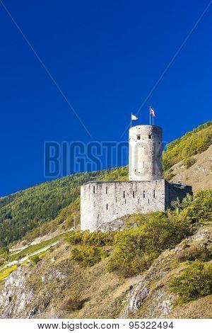 Batiaz Castle, Martigny, canton Valais, Switzerland