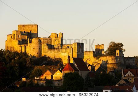 ruins of Rabi Castle, Czech Republic