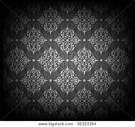 Vector illustration of seamless wallpaper pattern. Eps10