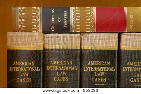Stacked Law Books