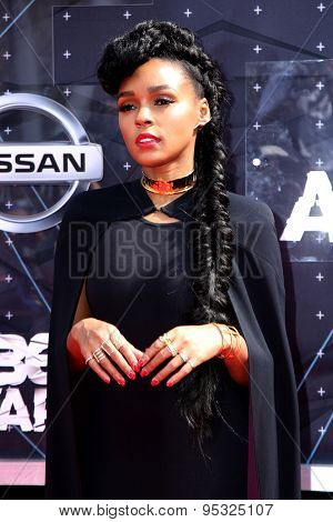 vLOS ANGELES - JUN 28:  Janelle Monae at the 2015 BET Awards - Arrivals at the Microsoft Theater on June 28, 2015 in Los Angeles, CA