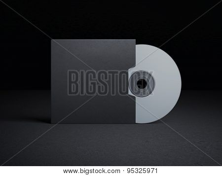 Blank compact disk cover
