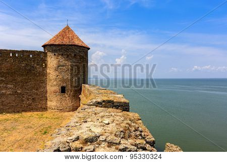 Tower of Belgorod-Dnestrovsky Castle, Ukraine