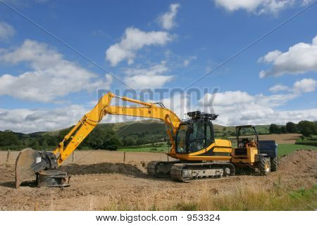 Digger And Dumper Truck