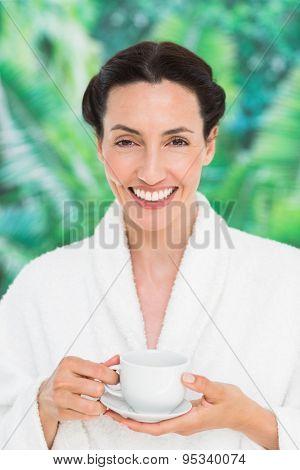 A woman having a spa day at the health farm