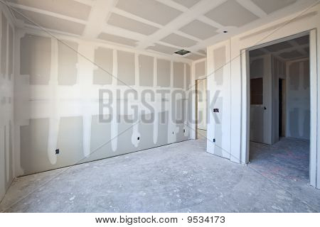 New Construction of an Interior Space