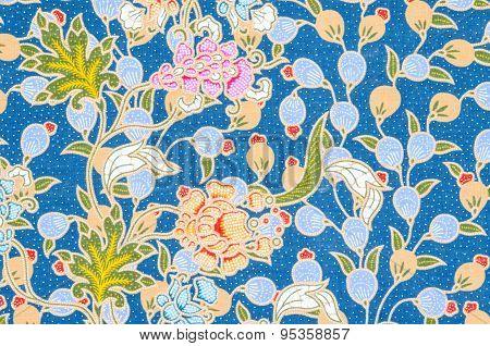 Flower Pattern Background.