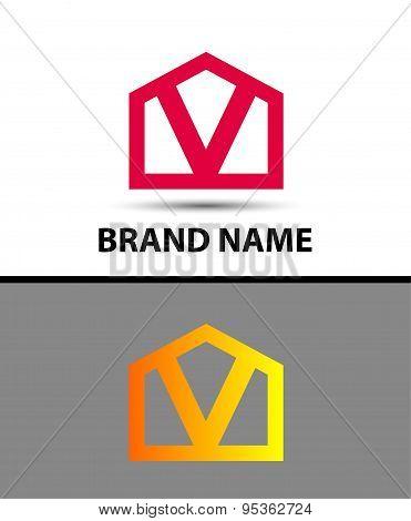 Vector - Letter V logo icon
