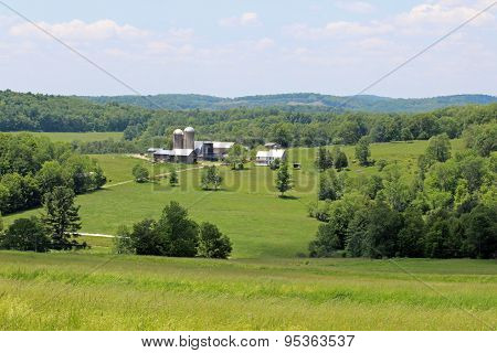 Farm and fields