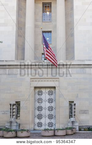 Department of Justice Building - Washington DC, USA