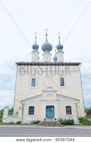 Smolensk Church in Suzdal, Russia