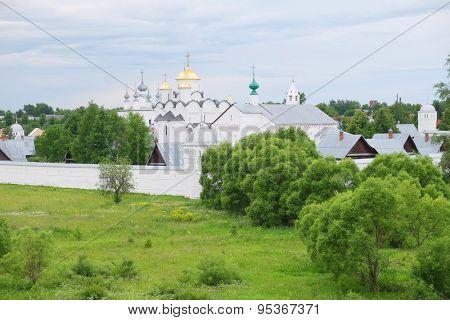 Pokrovsky Monastery in Suzdal, Russia