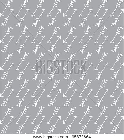 Seamless arrow pattern, background