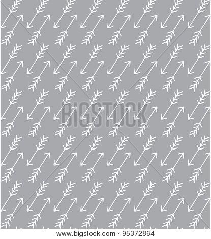 Seamless arrow pattern, background