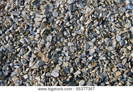 Abstract pebble or shingle background.