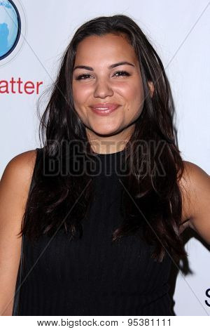 LOS ANGELES - JUN 30:  Gabriela Lopez at the SpyChatter Launch Event at the The Argyle on June 30, 2015 in Los Angeles, CA