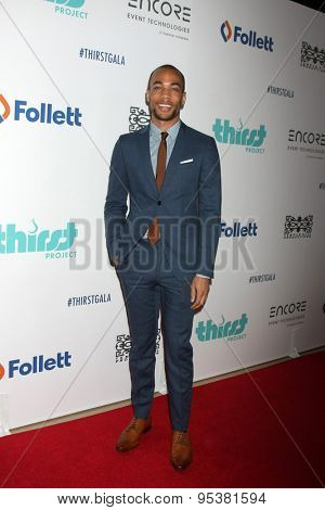 LOS ANGELES - JUN 30:  Kendrick Sampson at the 6th Annual Thirst Gala at the Beverly Hilton Hotel on June 30, 2015 in Beverly Hills, CA