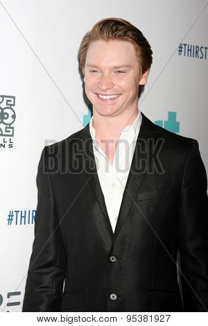 LOS ANGELES - JUN 30:  Calum Worthy at the 6th Annual Thirst Gala at the Beverly Hilton Hotel on June 30, 2015 in Beverly Hills, CA