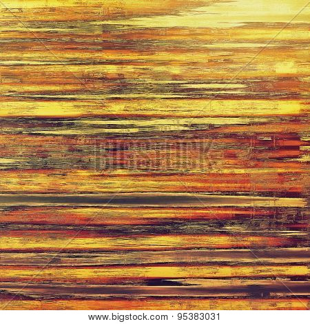 Old grunge template. With different color patterns: yellow (beige); brown; red (orange); purple (violet)