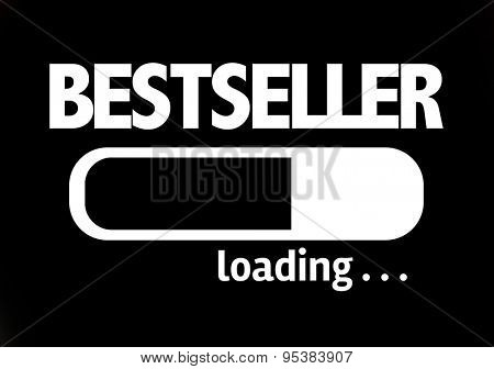 Progress Bar Loading with the text: Bestseller