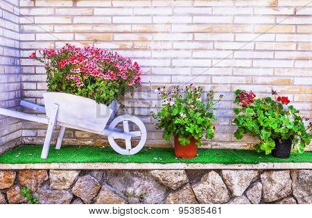 charming floral design