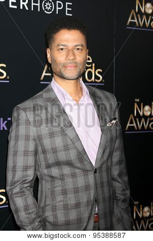 LOS ANGELES - FEB 27:  Eric Benet at the Noble Awards at the Beverly Hilton Hotel on February 27, 2015 in Beverly Hills, CA