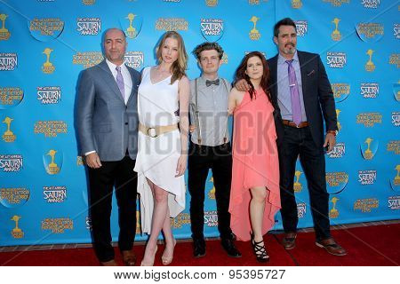 BURBANK - JUNE 25: The cast of Continum