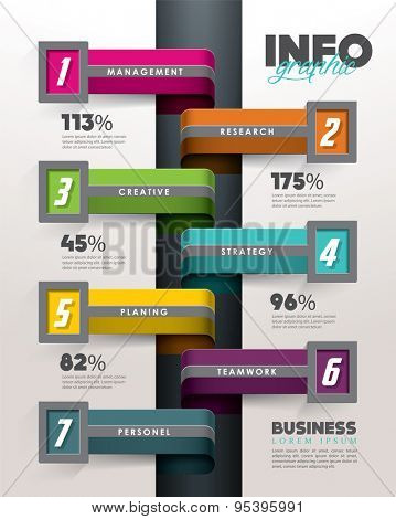 Info graphic design elements