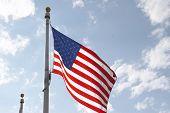 Постер, плакат: Флаг США