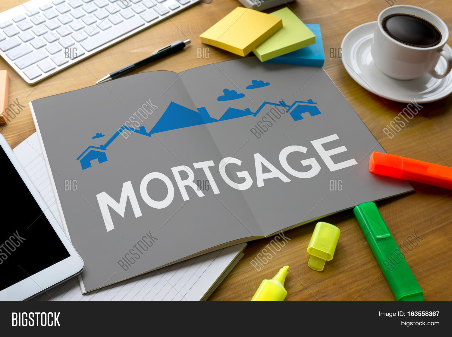 Property investment mortgage image photo bigstock for Mortgage to buy land