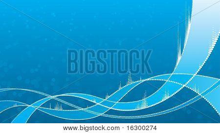 Abstrakte DNA Hintergrund
