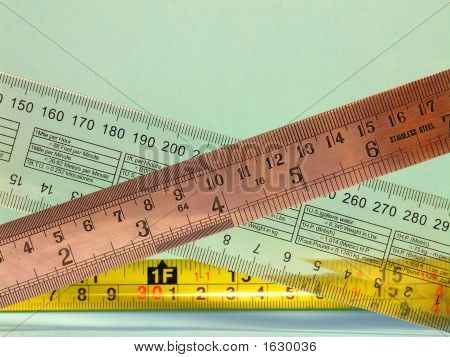 Rulers, #1 (Horizontal)