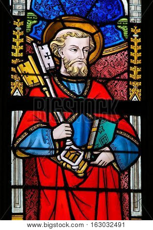 Stained Glass - Saint Peter