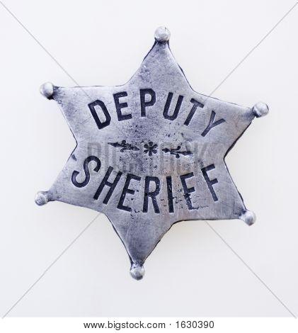 stellvertretende Sheriff star