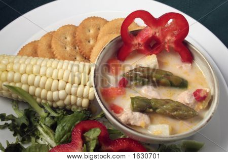 Asparagus And Chicken Chowder