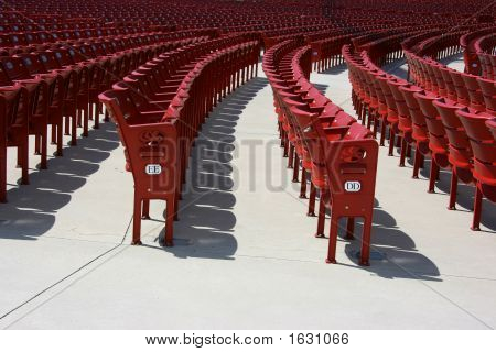 Red Plastic Seats, Side