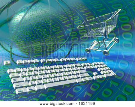 Servidores de dados Internet compras