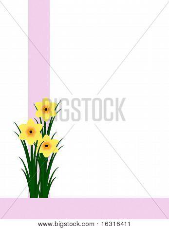 Stylized Daffodils