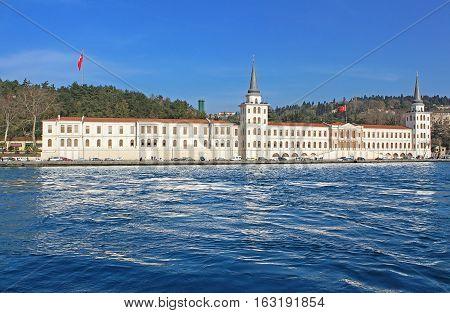 Kuleli military high school, Bosphorus, Istanbul, Turkey