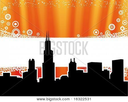 Chicago background