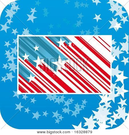 Abstract USA background