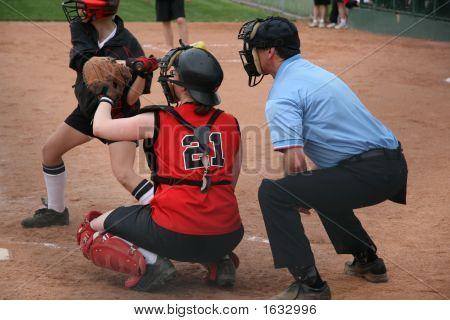 Catcher und umpire