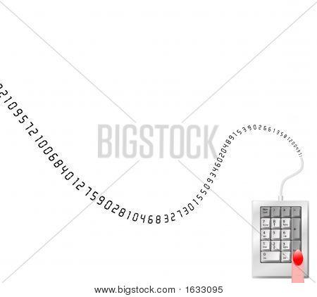 Numeric Data Entry Border