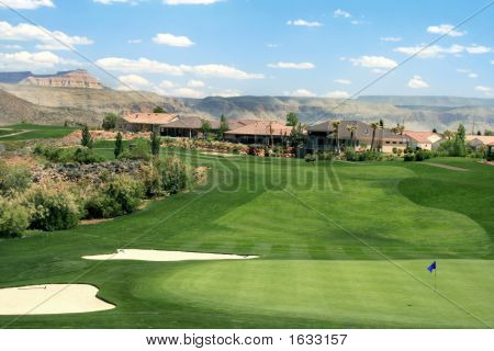 Mountain Golf Course Community