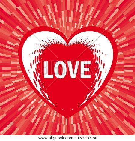 Dots heart / love
