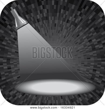 Grey vector projector