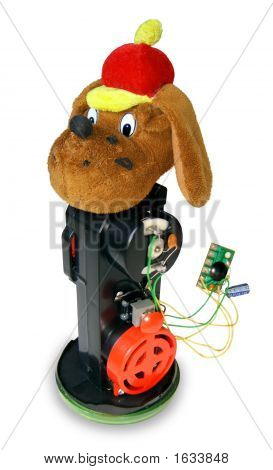 Children'S Toy Dog - The Guts Of A Toy