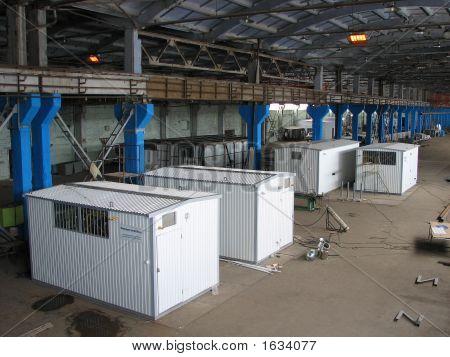 Manufacture Of Block Boiler-Houses